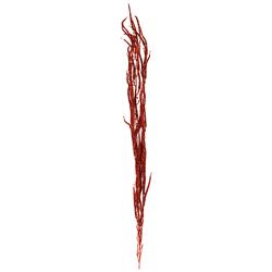 Rama Roja Escarchada 110cm