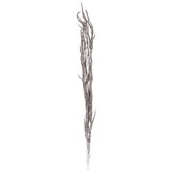 Rama Plateada  Escarchada 110cm