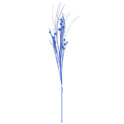 Rama  Escarchada  Azul 100cm