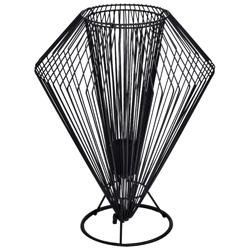 Lámpara de Mesa con Pantalla de Alambre