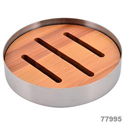 Accesorios para Baño de Acero Inoxidable y Bamboo