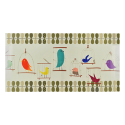 Cuadro Decorativo con Diseño Pájaro House Home