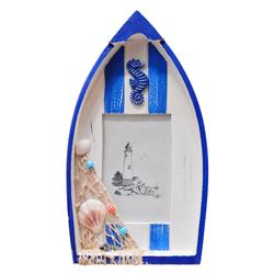 Porta Retrato con Diseño de Bote 18x31cm House Home