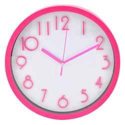 Reloj de Pared Fucsia Blanco Casa Bella