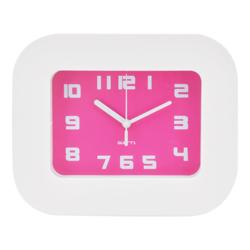 Reloj de Mesa Blanco Fucsia Casa Bella