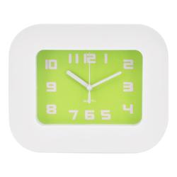 Reloj de Mesa Blanco Verde Casa Bella