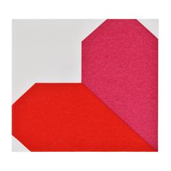 Servilleta Origami Corazón 40x40cm 12 Unidades