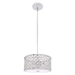 Lámpara de Cristal para Techo con 3 Boquillas