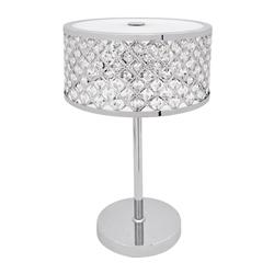 Lámpara de Cristal para Mesa con 3 Boquillas