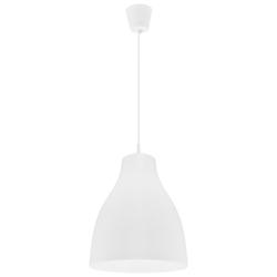 Lámpara Colgante Campana Blanca  de 1 Boquilla