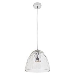 Lámpara Colgante  Campana de Vidrio con 1 Boquilla