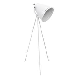 Lámpara de Piso Trípode Blanco