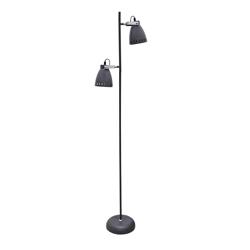 Lámpara  de  Piso Gris
