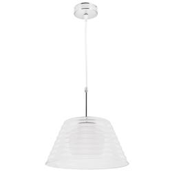 Lámpara Colgante Vidrio Transparente de 1 Boquilla