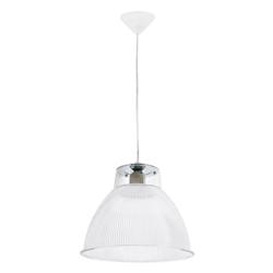 Lámpara Colgante Campana  Transparente  con 1 Boquilla