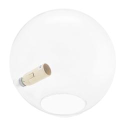 Lámpara de Vidrio Transparente para Mesa