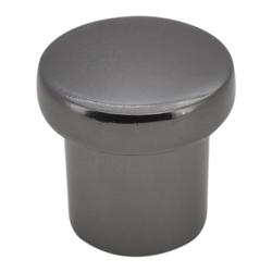 Pomo Níquel Negro 2.3cm