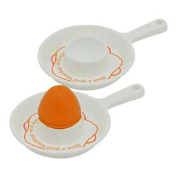 Porta Huevo con Salero en Set de 3 Piezas Snips
