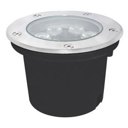 Lámpara de Piso Empotrable de 6 Leds para Exterior