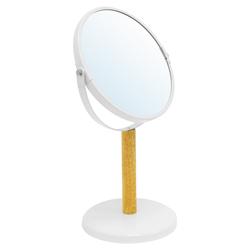 Espejo de Mesa Blanco Madera