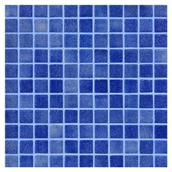 Mosaico de Vidrio Niebla Azul Oscuro 31.5x31.5cm (0.9)