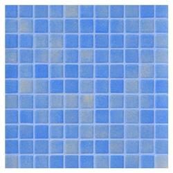 Mosaico de Vidrio Niebla Celeste  31.5x31.5cm (0.9)