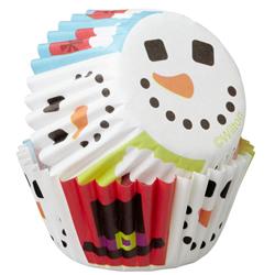 Pirutín Navideño Muñeco de Nieve  100 Piezas Wilton