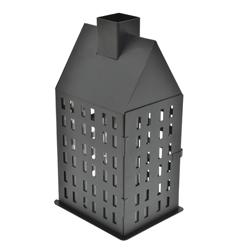 Farol con Diseño de Edificio Negro Concepts