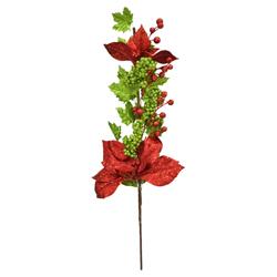 Rama Navideña  Rojo Verde   76cm