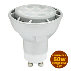 Foco Led MR16 7w GU10 Dimerizable Lumicino