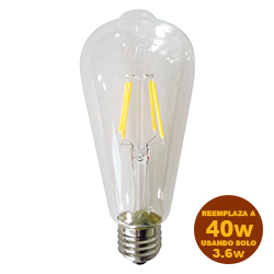 Foco Led A65 3.6W E27 Dimerizable Lumicino