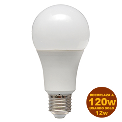Foco Led A65 12W E27 Dimerizable Lumicino