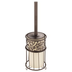 Porta Cepillo para Baño Vine Bronce Interdesign