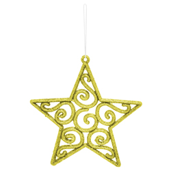 Estrella Colgante Oro Velvet Bliss