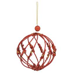 Bola Colgante Calada Christmas Traditions