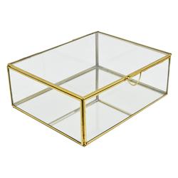 Caja de Vidrio  Decorativa