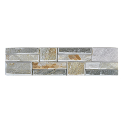 Piedra  Split Face Gris 15x60cm