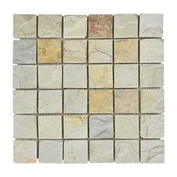 Mosaico Piedra Square  Beige 30.5x30.5cm