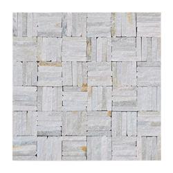 Mosaico Piedra Mini Square Line Beige 30.5x30.5cm
