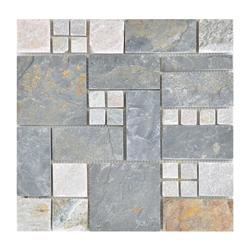 Mosaico  Piedra Split Gris Oxido  30.5x30.5cm