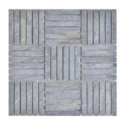 Mosaico Piedra Square  Line  Gris 30.5x30.5cm