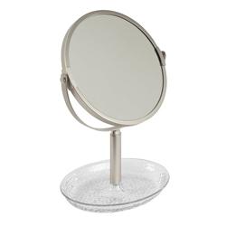 Espejo de Mesa Rain con Porta Joyas Interdesign