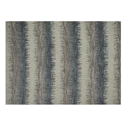 Alfombra Ikat Stripes Blue 152x213cm