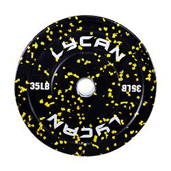 Discos de Caucho Alpha 35lbs