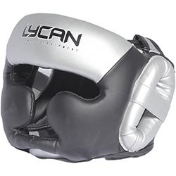 Casco de Boxeo Silver Black M Lycan