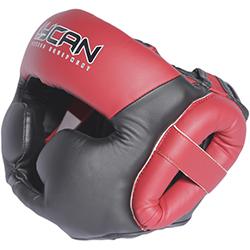 Casco de Boxeo Red Black L Lycan