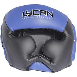 Casco de Boxeo Blue Black L Lycan