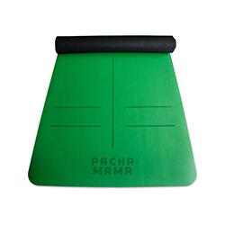 Tapete de Caucho Verde para Yoga