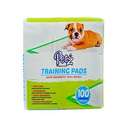 Pañal Absorbente para Mascotas Petz 56X58cm  100 Unidades