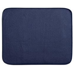 Tapete Dry Mat para Cocina Azul Blanco 46x41cm